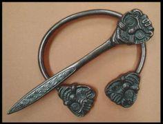 Celtic cloak pin