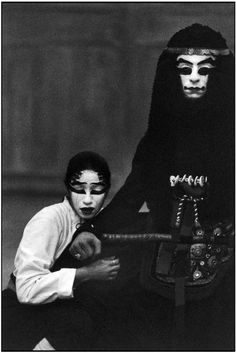 Martine Franck, Iphigenia in Aulis by Euripides, Théâtre du Soleil, Paris, France, 1990