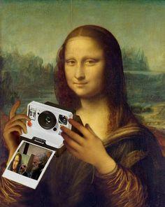 La Madone, Mona Lisa Parody, Mona Lisa Smile, Sad Wallpaper, Famous Art, Gif Animé, Photoshoot Inspiration, Moma, Photo Art