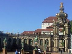 Dresden, Zwinger Castle Dresden, Old And New, Castle, Old Things, Spaces, Mansions, House Styles, Furniture, Home Decor