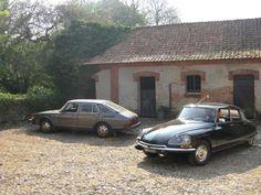 The cars. Saab 900, Citroën DS