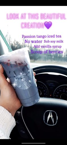 Starbucks Flavors, Starbucks Hacks, Healthy Starbucks Drinks, Starbucks Secret Menu Drinks, Starbucks Coffee, Smoothies, Smoothie Drinks, How To Order Starbucks, Coffee Drinks