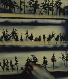Michaël Borremans.  Add and Remove.  2002.  David Zwirner Gallery.