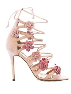 Featured Shoes: Marchesa; Wedding shoes idea.