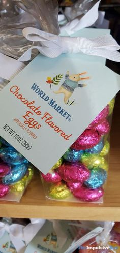 World Market Chocolate Flavored Eggs Impulsive Buy, Easter 2020, Food Reviews, Chocolate Flavors, News Blog, Junk Food, Favors, Eggs, Gift Wrapping