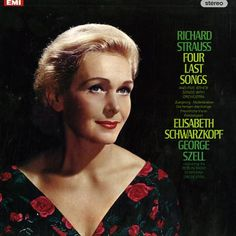 Elisabeth Schwarzkopf es la cantante por excelencia de estos extraordinarios cuatro últimos lieder de Strauss pero no la única grande. También recomendable la poderosa interpretación de Jessye Norman.