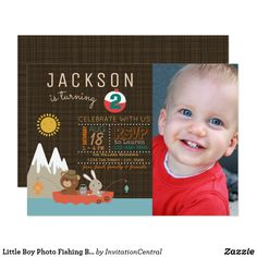 90 best the big one fishing boys first birthday invitations it s o