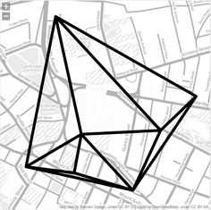 How cool is this! I just made my own geometric jewellery with Meshu. This is a map of my recent trip to Cambridge, MA; generated from my Foursquare data. To create your own go tohttps://meshu.io/