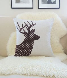 flannel christmas cushion - Google-Suche