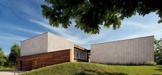 Contemporary Exterior and Michael Haverland in East Hampton, New York