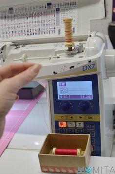 Truco costura: Pasar hilo de un carrete a otro