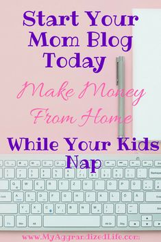 Learn how to start a blog and make money from home even if you don\'t know anything about it. This mom makes THOUSANDS every month from her small blog and you can too! #afflink