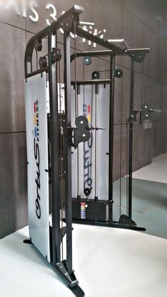 Sistema de poleas dual, perfecto para salas de entrenamiento personal  diseño y fabricación nacional.