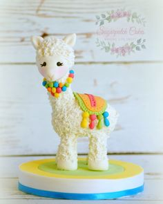 Items similar to Fondant Llama Alpaca Cake Topper for Baby Shower Centerpiece, First Birthday Party Decorations, Zoo Animal Decor, Kids Celebration on Etsy - Lama cake - First Birthday Party Decorations, First Birthday Parties, First Birthdays, Cupcakes, Cupcake Cakes, Llama Birthday, Baby Birthday, Birthday Cake, Fondant Cake Toppers