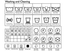 Lucky Label's Blog - Clothing Woven Labels Blog: Clothing Labels Symbols for Washing, Cleaning, Bleaching, Ironing and Drying