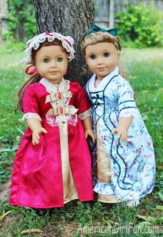 Felicity Gala Dress and Elizabeth Holiday Dress