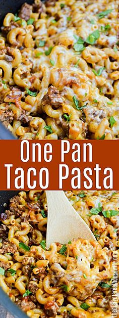 One Pan Taco Pasta. Easy recipe with ground beef. One Pan Taco Pasta. Easy recipe with ground beef. One Pan Taco Pasta. Easy recipe with ground beef. … One Pan Taco Pasta. Easy recipe with ground beef. Ground Beef Pasta, Ground Beef Tacos, Dinner With Ground Beef, Ground Meat, Ground Turkey, Elbow Macaroni Recipes, Easy Pasta Recipes, Cooking Recipes, Dinner Recipes