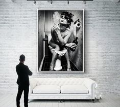 Black White Sexy Charming Woman Beauty Canvas Painting Toilet Pub Bar Home Decoration Art Poster Wall Pictures New Design Canvas Art Prints, Painting Prints, Canvas Wall Art, Pictures To Paint, Art Pictures, Nordic Art, Black And White Wall Art, Bathroom Wall Art, Picture Wall