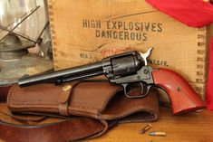 Heritage rough rider. Great single action revolver. Bull creek leather holster.