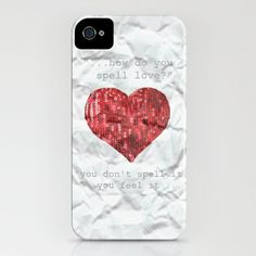 Image Detail for - HEART iPhone Case by M nika Strigel | Society6