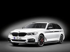 BMW presented the M Performance parts of the 5-Series Touring