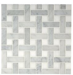"Aqualinea+7/8""+x+2+7/8""+Basketweave+Mosaic"
