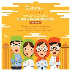 Semoga iman dan takwa kita semakin meningkat di bulan Ramadan ini. Dan, istikamah hingga Ramadan berikutnya menyapa.  Selamat Menunaikan Ibadah Puasa! :) #LabSatu #ibadah #puasa #ramadan #scientist