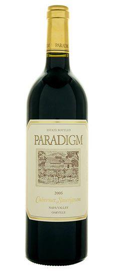 Paradigm 2005 Cabernet Sauvignon, tried at Station One. Dark, deep & delicious.