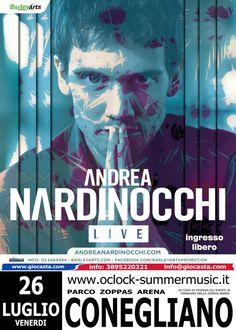 Andrea Nardinocchi in concerto + Artù + Tommaso Di Giulio - 26 luglio 2013