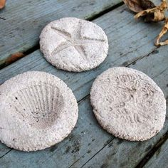 earth-day-crafts-for-kids - coffee ground fossils