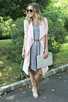 Le Tote, Clothes Horse, Dress Me Up, Stitch Fix, New Look, What To Wear, Duster Coat, Wrap Dress, Cute Outfits