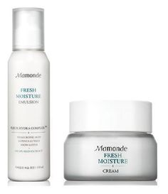 KOREAN COSMETICS, AmorePacific _ Mamonde, Fresh Moisture lotion and cream set (combination of dry and oily skin) (- Fresh Moisture Emulsion 150ML+Fresh Moisture Cream 50ML), (exfoliation, moisturizing, nutrition, persistence)[001KR] by Mamonde. $54.99. Item location : Korea and we ship to worldwide. Note to the first users : If you have  not used this item before, try the cosmetic with small amount on your skin. If you find any trouble with the product, please stop ...