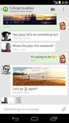 Google finally combines text and chat conversations in Hangouts