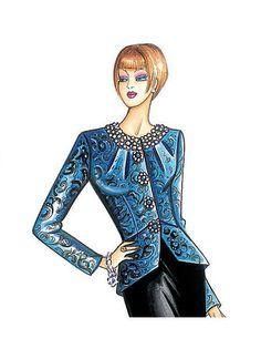 F3793 | Butterick Patterns Marfy Patterns, Mccalls Sewing Patterns, Vogue Patterns, Vintage Sewing Patterns, Knit Patterns, Fashion Design Sketchbook, Fashion Design Drawings, Moda Retro, Dress Illustration