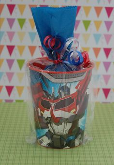 Transformers Birthday Party Goodie Bags by SweetPartyGoodies