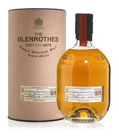 the glenrothes single malt scotch whiskey.