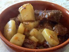 Spezzatino e patate (pentola a pressione)