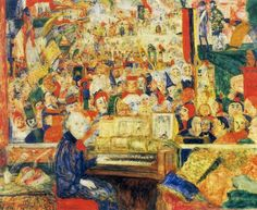 Ensor dans son atelier, James Ensor