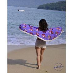 Coleção 2016 ... #muitoamor!! ... Compra tua canga redonda on line: www.ateliejuju.com ! Segue @adoroateliejuju ... Ainda tem a promoção e vem uma bolsa JUJU de presente ! #adoroateliejuju #onlineshopping #cangaredonda #canga #riodejaneiro #carioca #praia #verao #sereia #summerlovers #nature  #followthesun #eupraiana #goodvibes #love #amor #photooftheday #beach #indie #gypsy #bohemian #wanderlust #lifestyle #summer #yoga #surf #yogagirls #surfgirls