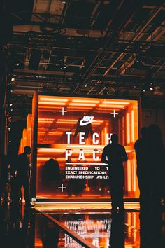 Tech Pack Retail Installation by Nike | Creative Retail Design