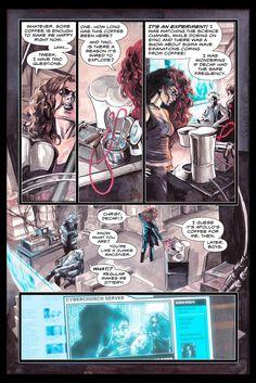 page 2 of epilogue #jkwoodward #cyberpunk #crazymary #coffee
