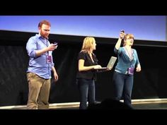 See what happens when the speaker asking the audience to turn off their cell phones