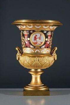 Campana Urn, circa 1845, Imperial Porcelain Factory.