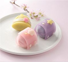 Gallery – Japan's Culture – Wagashi (Part Japanese Treats, Japanese Food Art, Japanese Cake, Japanese Dishes, Beautiful Desserts, Cute Desserts, Asian Desserts, Dessert Recipes, Sushi Recipes