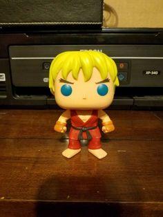 Street Fighter #138 Ken Funko POP Games