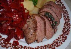 Bylinková kachní prsa Holiday Recipes, Steak, Beef, Foods, Holidays, Food Food, Vacations, Holidays Events, Steaks