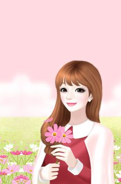 Find images and videos about girl, lovely girl and Enakei on We Heart It - the app to get lost in what you love. Cute Kawaii Girl, Cute Cartoon Girl, Beautiful Fantasy Art, Beautiful Drawings, Beautiful Images, Lily Cat, Korean Illustration, Lovely Girl Image, Cute Girl Drawing