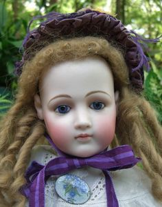 "RARE 28"" Jumeau PORTRAIT French Fashion Doll - Layaway! from threesistersantiques on Ruby Lane"