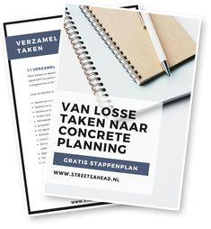 Planning maken in 4 stappen + mijn basistips - Streets Ahead