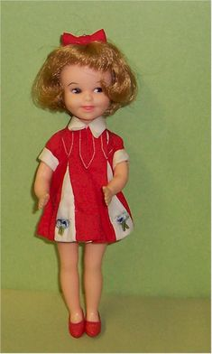 When my sister and I would play with our Barbies, Penny Brite was always the neighbor who would come over complaining about the noise.  She seemed so sanctimonious with that stupid bow in her hair.  Fuck you, Penny Brite.  I never liked you.